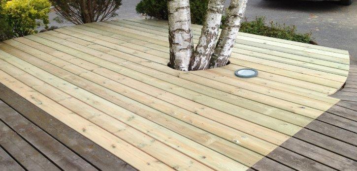 Read more about the article Une terrasse en bois